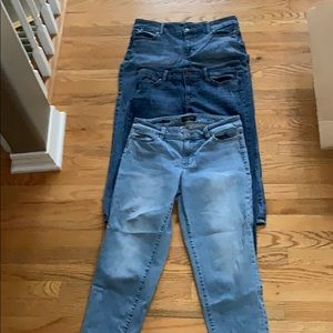 Talbots jeans same style all different shades